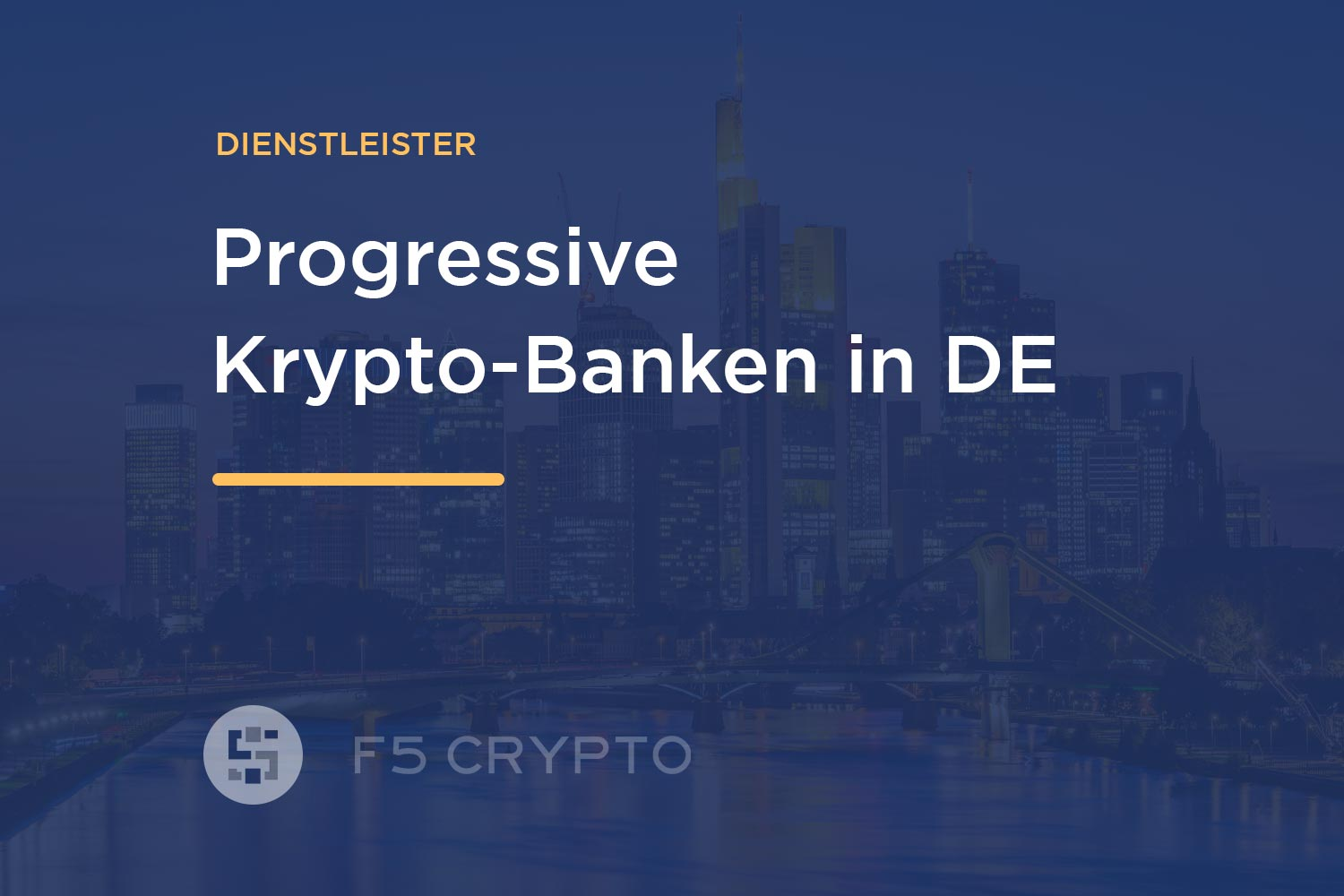 Krypto Banken in Deutschland