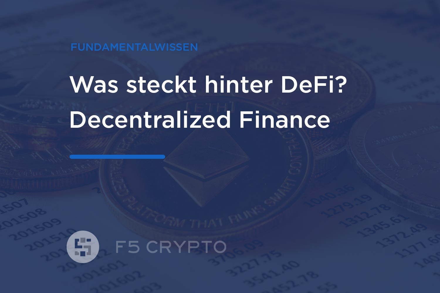 Was ist Decentralized Finance (DeFi)?