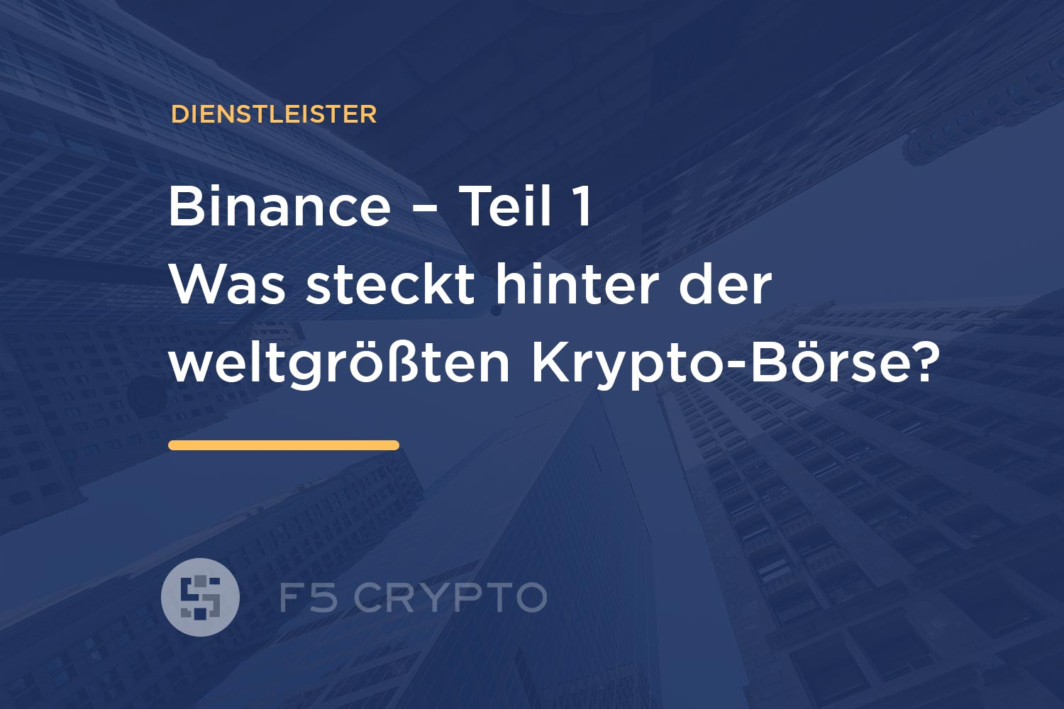 Was ist Binance?