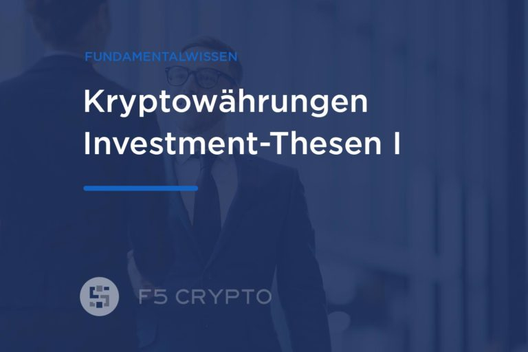 Investment These: Bitcoin ist Digitales Gold